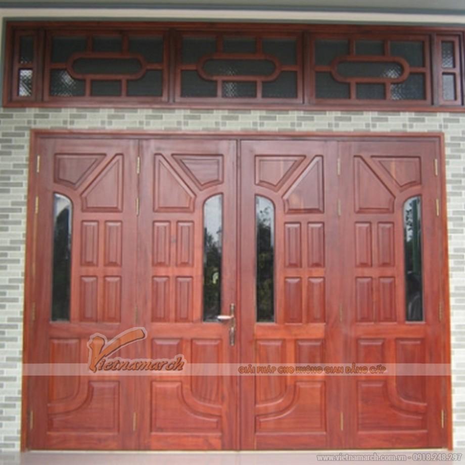 Đóng cửa chính, cửa ra vào chuẩn kích thước lỗ ban