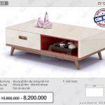 Mẫu bàn trà nhập khẩu cao cấp mặt kính Temper BT63 lựa chọn hoàn hảo số 1