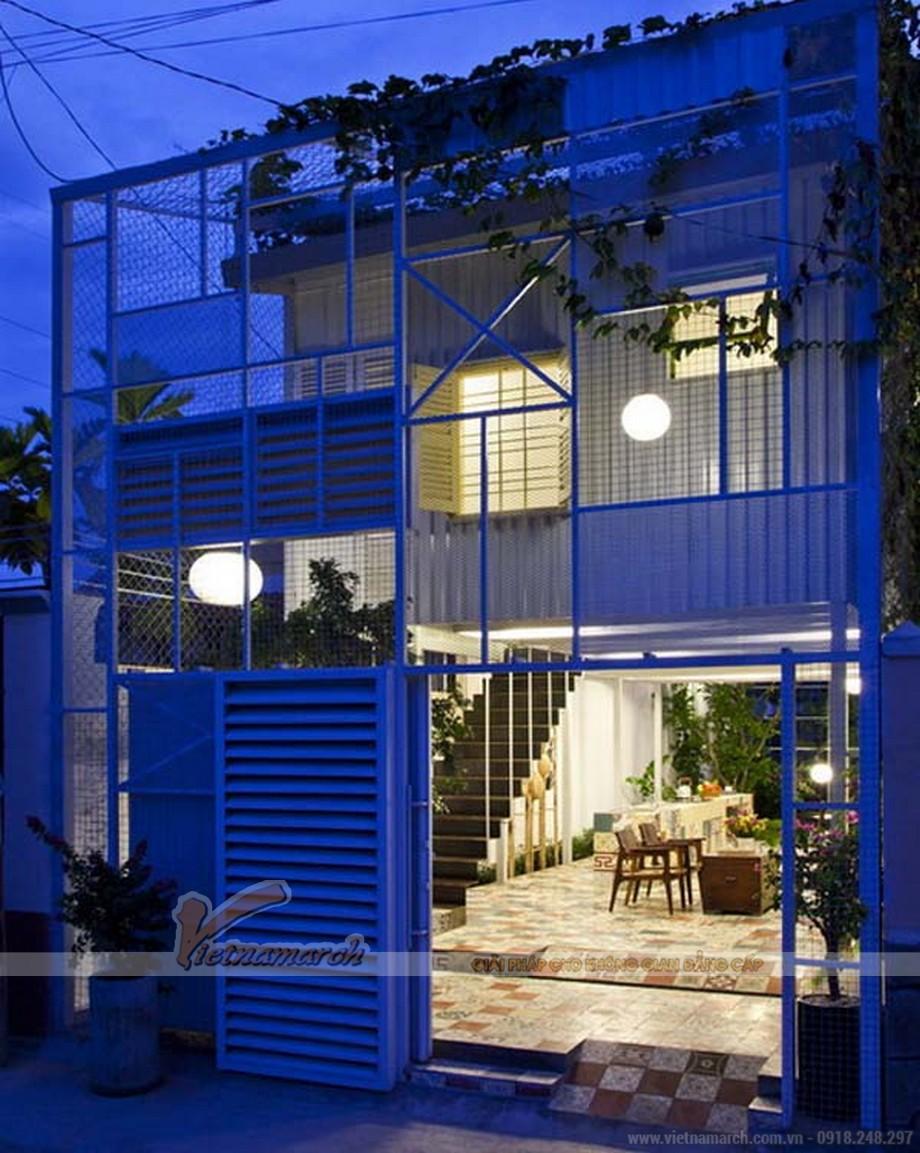 Ngắm nhìn 2 ngôi biệt thự container đẹp nhất Việt Nam-02