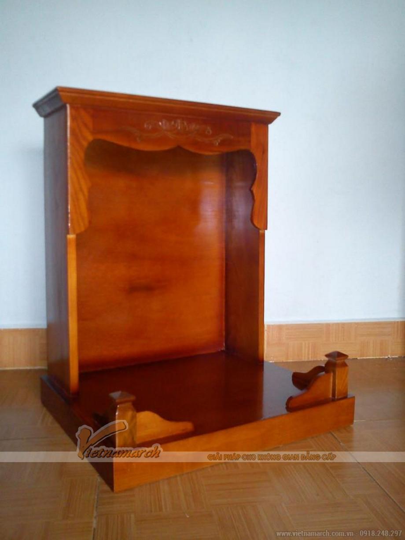 Mẫu bàn thờ Thần Tài, Thổ Địa đơn giản nhưng chuẩn phong thủy 03