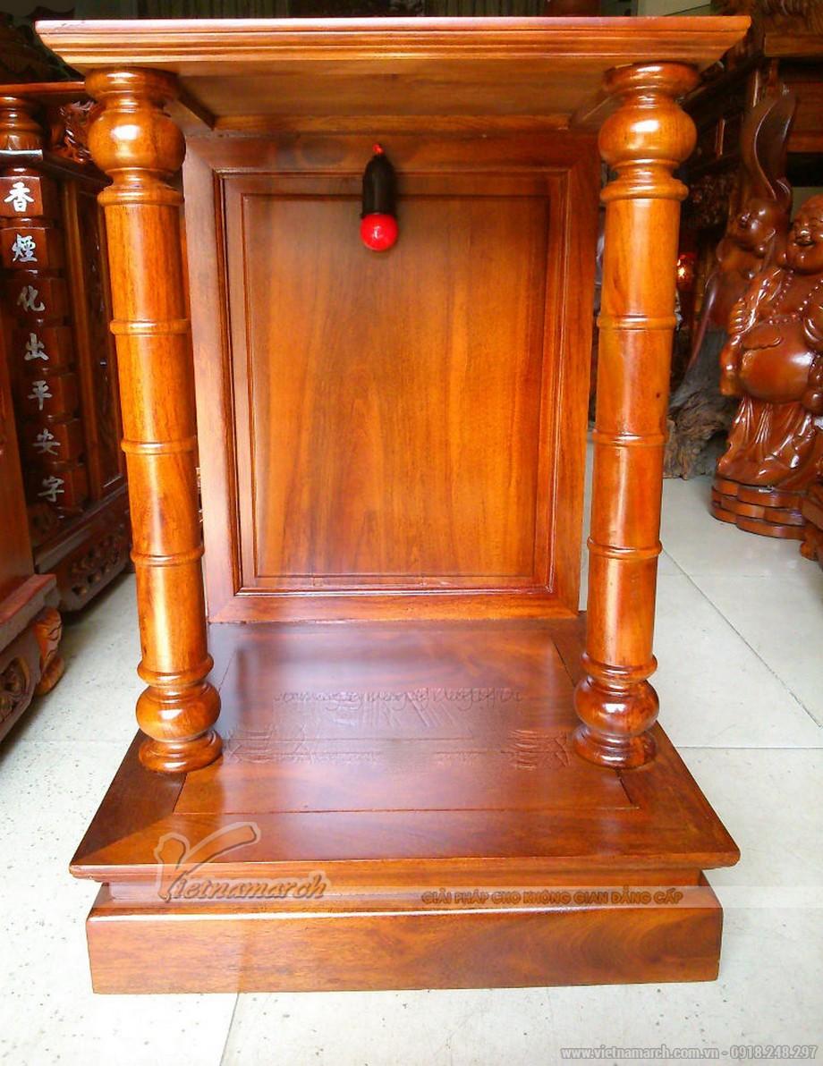 Mẫu bàn thờ thần tài hiện đại
