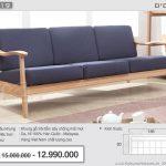 Khám phá mẫu sofa gỗ hiện đại cho phòng khách ấn tượng – Mã: NV319