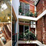 Thiết kế giếng trời cho nhà phố hợp phong thủy và thông thoáng hơn.
