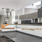 Gợi ý những mẫu tủ bếp cao cấp màu trắng đẹp tinh tế cho không gian bếp hiện đại