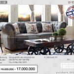 Mẫu sofa văng nỉ tân cổ điển khiến các gia chủ lao đao tìm kiếm – Mã NV318