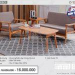 Mẫu ghế sofa đơn giản nhưng cực kì thanh lịch làm bao khách hàng chao đảo Mã: NV320
