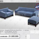 Mẫu sofa vải nỉ thiết kế cực kì đơn giản nhưng hứa hẹn bứt phá nhất cho không gian nội thất