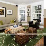 Bí quyết chọn thảm trải sàn tạo điểm nhấn cho phòng khách