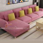 Khoác tấm áo mới cho không gian sống với mẫu sofa góc Việt cao cấp