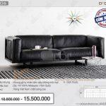 Mẫu ghế sofa văng DV206 trẻ trung, hiện đại đang nổi bần bật tại Vietnamarch