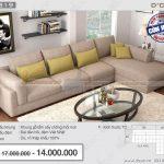 Chiêm ngưỡng mẫu sofa nỉ chữ L đẹp sang chảnh quá chất NG319