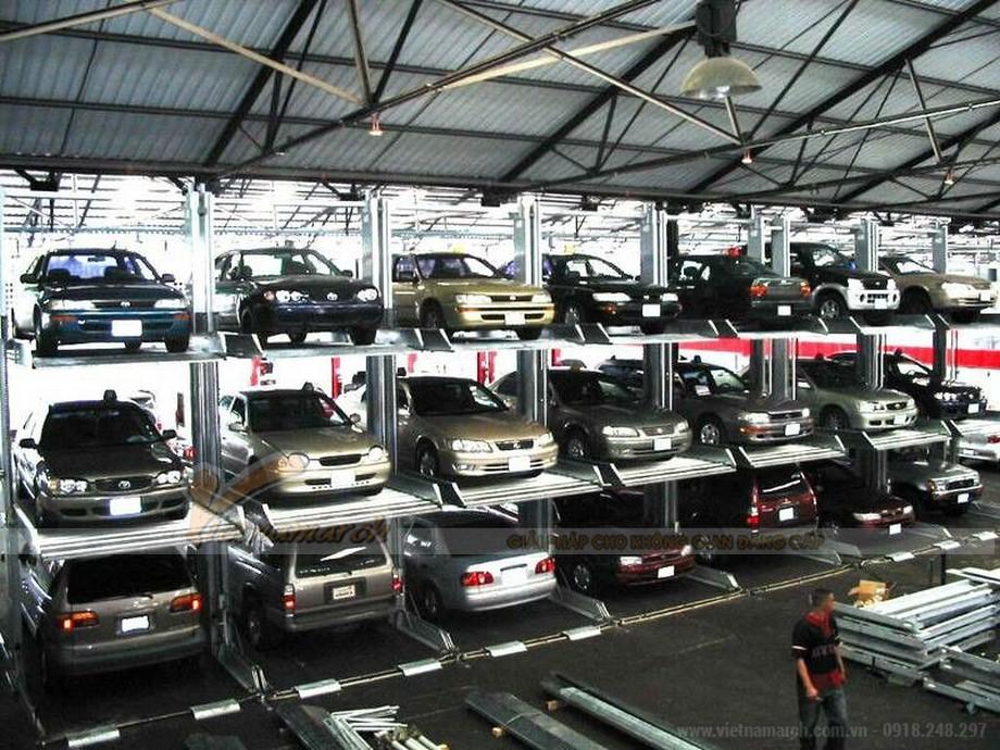 Hệ thống đỗ xe tự động - Sự hiện đại tạo nên đẳng cấp