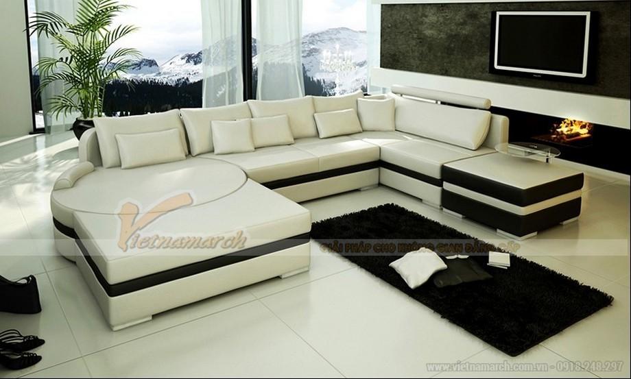Những lưu ý bạn phải biết ngay khi chọn mẫu sofa đẹp giúp không gian rộng rãi