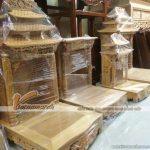 Những mẫu bàn thờ Thần Tài, Ông Địa truyền thống ấn tượng