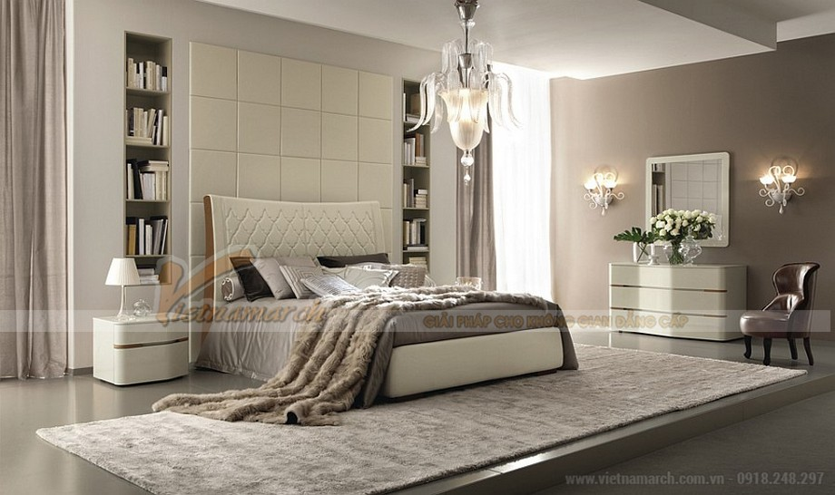 Nguyên tắc thiết kế nội thất phòng ngủ bạn không được bỏ qua 04