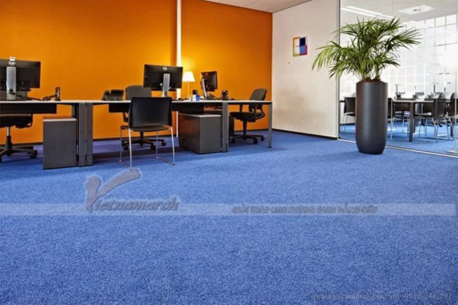 Những mẫu thảm trải sàn cho không gian văn phòng hiện đại và năng động
