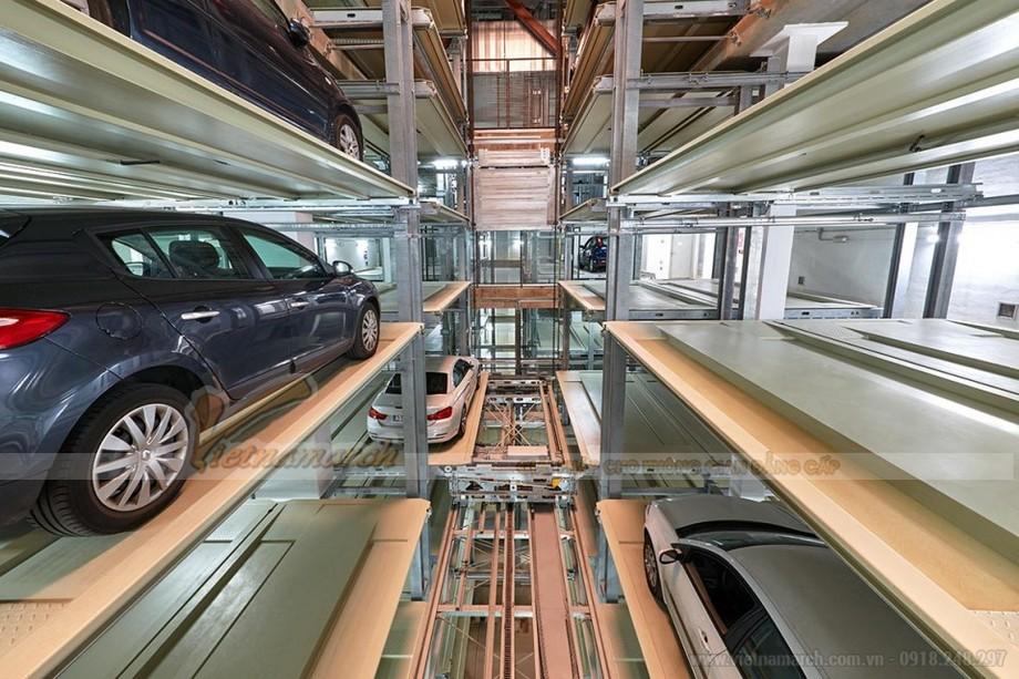 Hệ thống đỗ xe tự động đưa vào sử dụng, giúp giải quyết tốt vấn đề giao thông