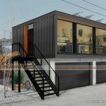 Thiết kế nội thất nhà ở Container