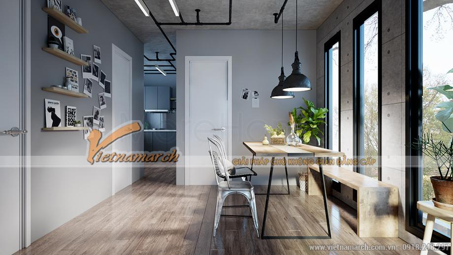 Thiết kế nội thất phòng khách nhà ở Container
