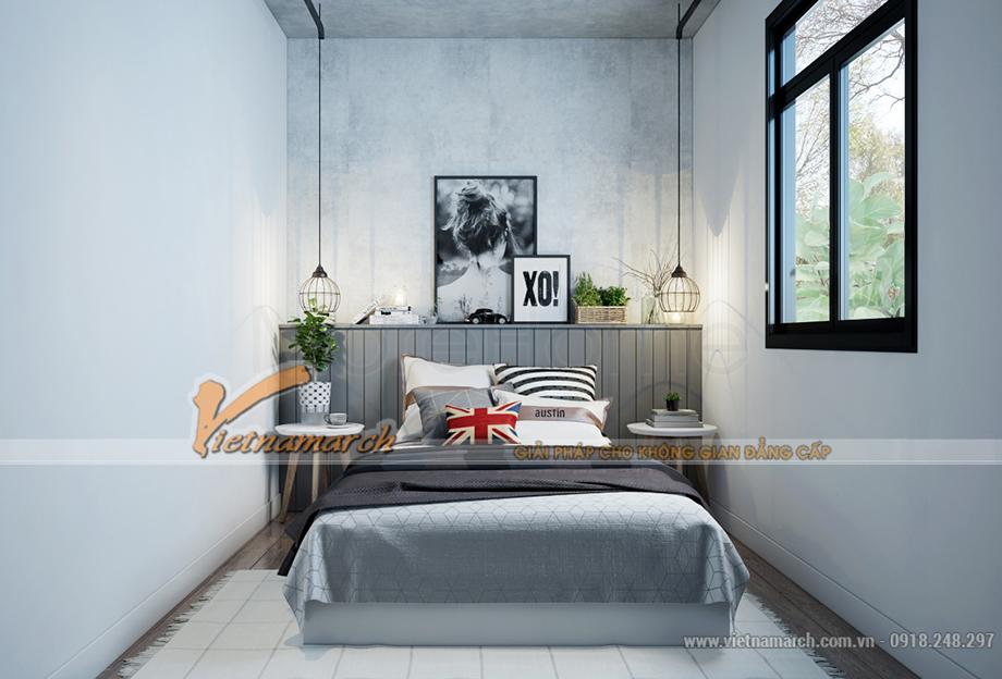 Thiết kế nội thất phòng ngủ nhỏ trong nhà ở Container