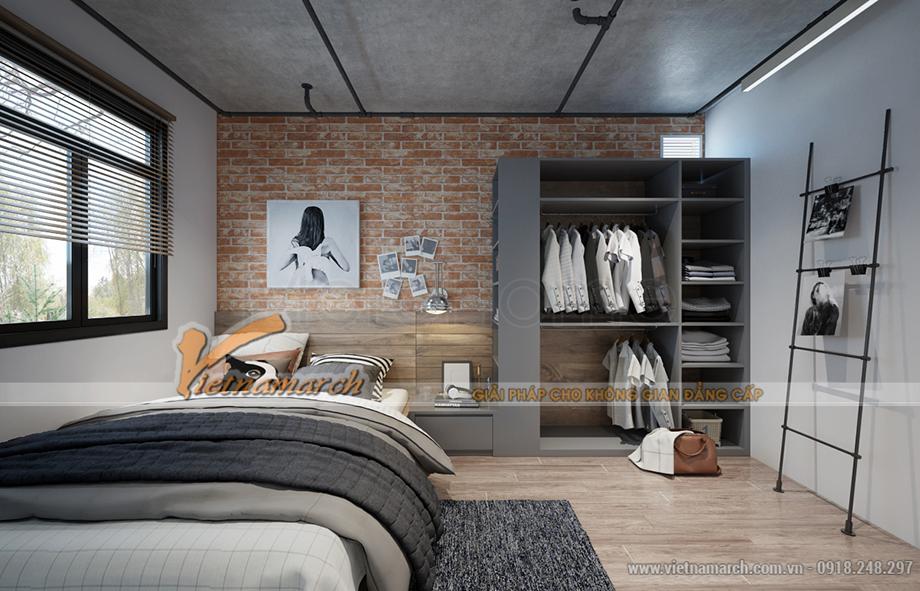 Thiết kế nội thất phòng ngủ nhà ở Container