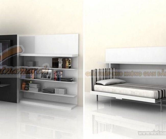 Thiết kế nội thất phòng ngủ cho trẻ với không gian siêu nhỏ