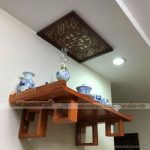 Tổng hợp những mẫu bàn thờ treo hiện đại đẹp nhất