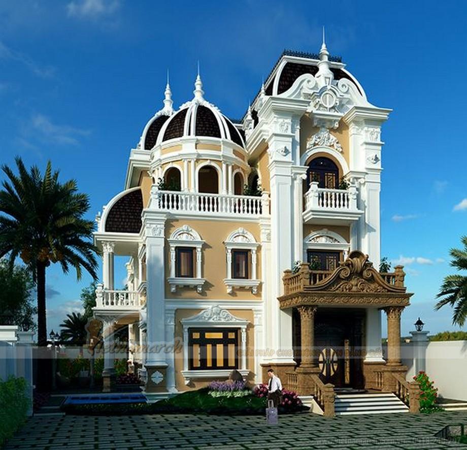 Tuyển tập những mẫu thiết kế biệt thự đẹp nhất mọi thời đại