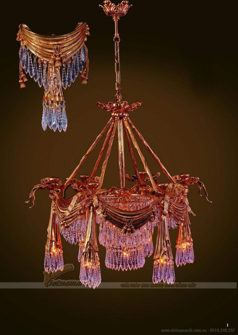 Tuyệt chiêu chọn đèn chùm trang trí mang phong cách độc đáo