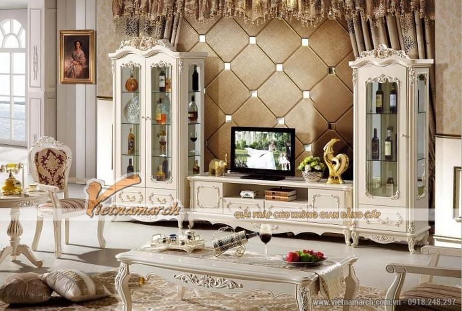 Tuyệt chiêu lựa chọn tủ rượu phù hợp với mọi không gian phòng khách