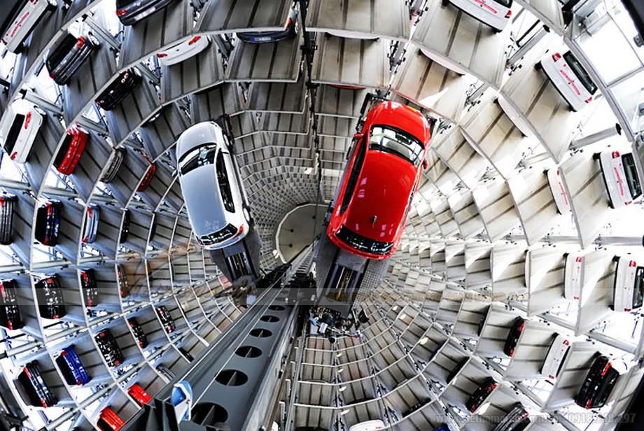 Xây dựng bãi đỗ xe – Nghĩ ngay hệ thống đỗ xe tự động