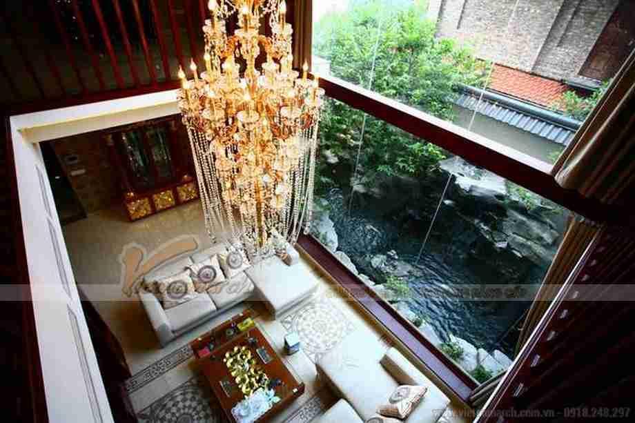 HOT: Ấn tượng biệt thự thiết kế hồ bơi trên sân thượng