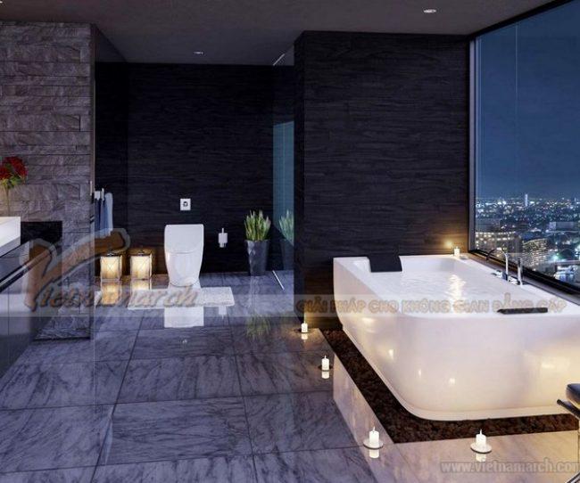 Bật mý cách thiết kế phòng tắm phù hợp với mọi không gian gia đình