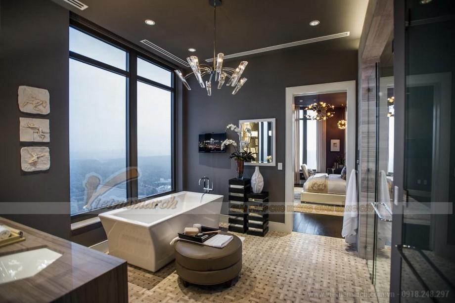 Lựa chọn ánh sáng trong phòng tắm là yếu tố khá quan trọng