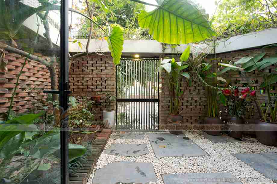 """Chiêm ngưỡng căn """"biệt thự xanh"""" tuyệt đẹp tại Hà Nội"""