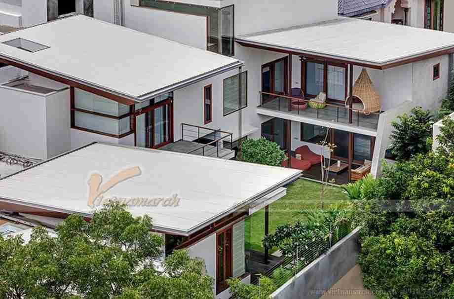 Biệt thự nhà vườn- Thiết kế đi đầu xu hướng