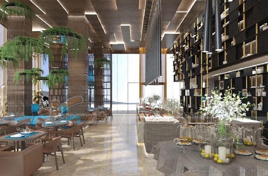 Thiết kế nhà hàng, quán cà phê ấn tượng vô cùng giúp thu hút khách