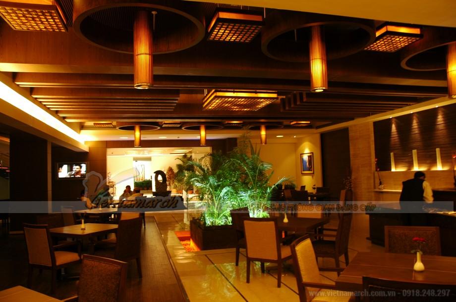Thiết kế đồng bộ giữa âm thanh, ánh sáng và nội thất trong quán cafe