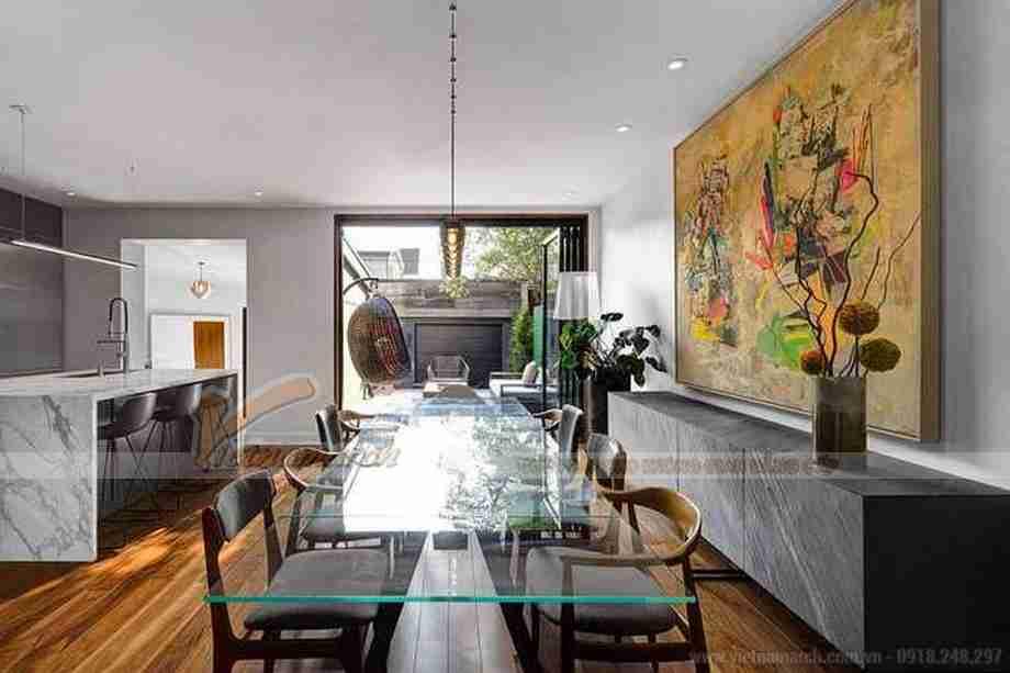 HOT HOT: Căn biệt thự mini 2 tầng gây ấn tượng mạnh bởi sự đối lập trong ngoài