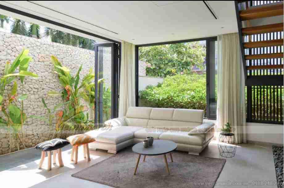 Hot: Choáng ngợp với vẻ đẹp hiện đại của căn biệt thự 3 tầng tại Sài Gòn
