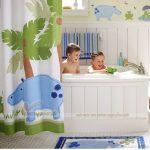 Thiết kế phòng tắm cho bé yêu cực COOL giúp bé phát triển tư duy và yêu thích.