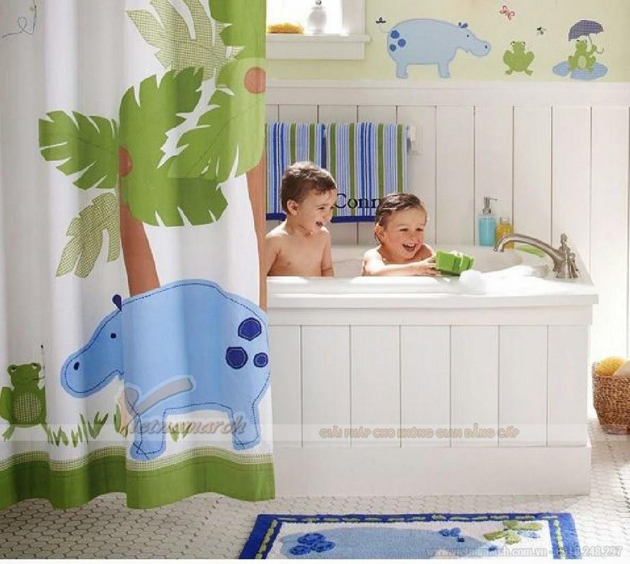Chuyên gia chia sẻ những cách thiết kế phòng tắm cho bé yêu nhà bạn