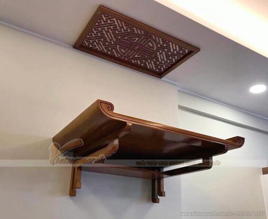 Chuyên gia phong thủy chia sẻ nguyên tắc khi lựa chọn ban thờ treo tường - 06