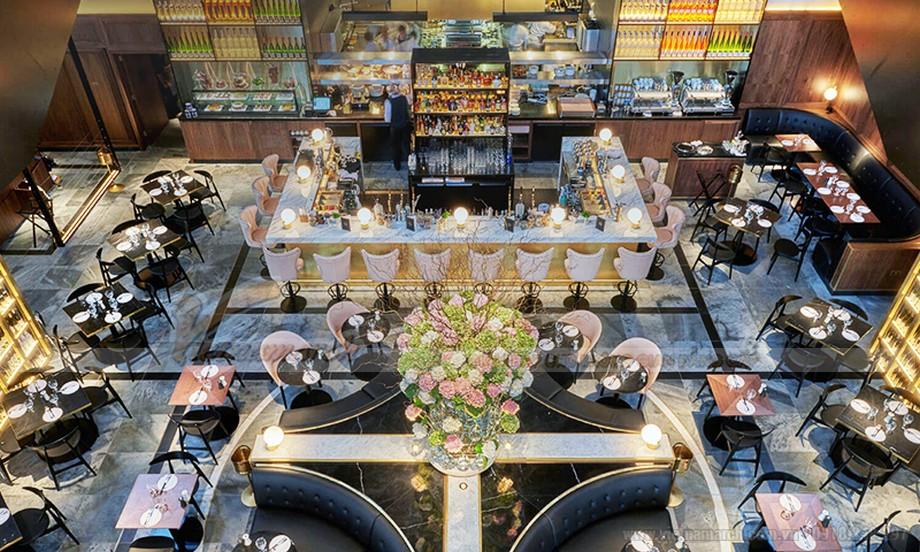 Thiết kế quán cà phê ấn tượng nhất khiến ai cũng phải trầm trồ khi bước vào.