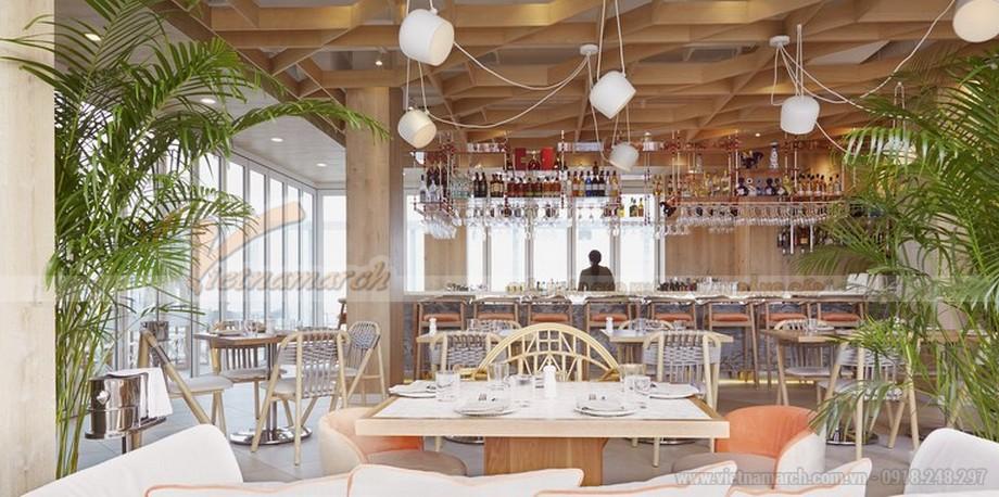 Thiết kế quán cafe nhẹ nhàng và tinh tế trong phong cách Scandinavian