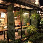 HOT: Phong cách thiết kế quán cà phê hòa mình vào thiên nhiên.