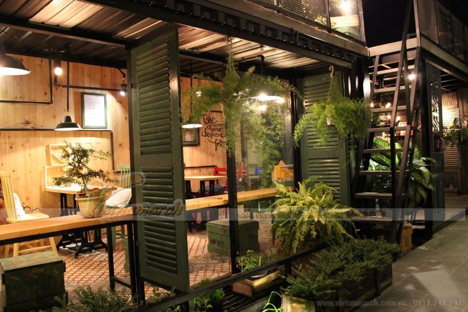 HOT: Phong cách thiết kế quán cà phê hòa mình vào thiên nhiên