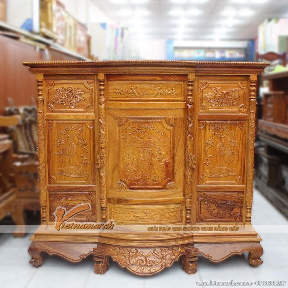 Những mẫu tủ thờ đẹp truyền thống