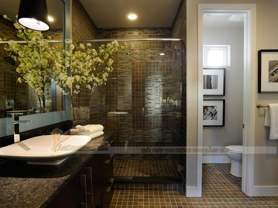 Thiết bị đèn điện chiếu sáng, đèn trang trí trong phòng tắm nên được lựa chọn cẩn thận bởi đặc thù của môi trường phòng tắm ẩm ướt.
