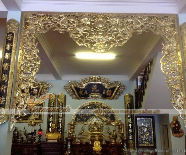 Những lưu ý về cách bố trí nội thất đồ thờ khi thiết kế nhà thờ họ